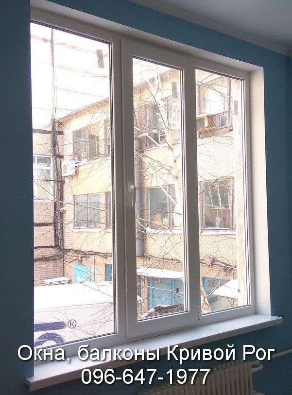 metalloplastikovye okna i otkosy ot kompanii komfort v krivom roge