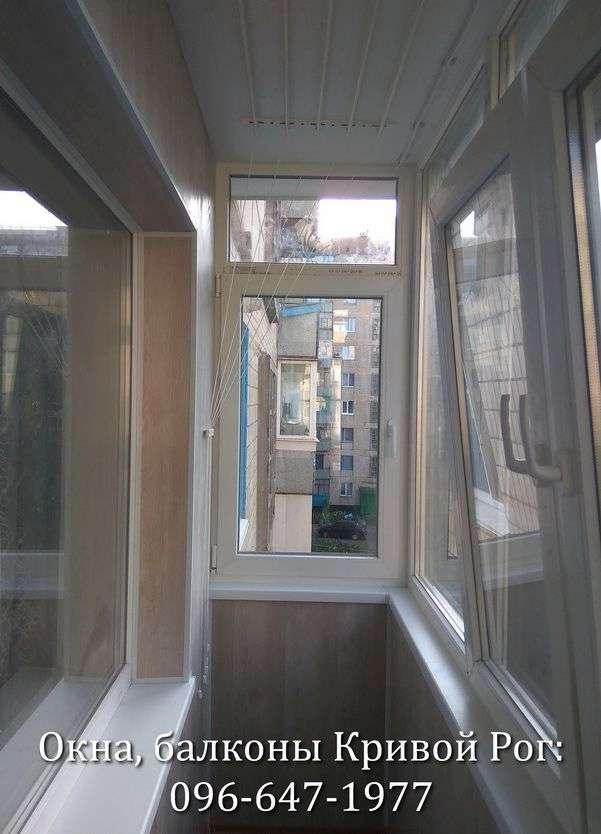 obshit balkon vnutri v krivom roge komfort