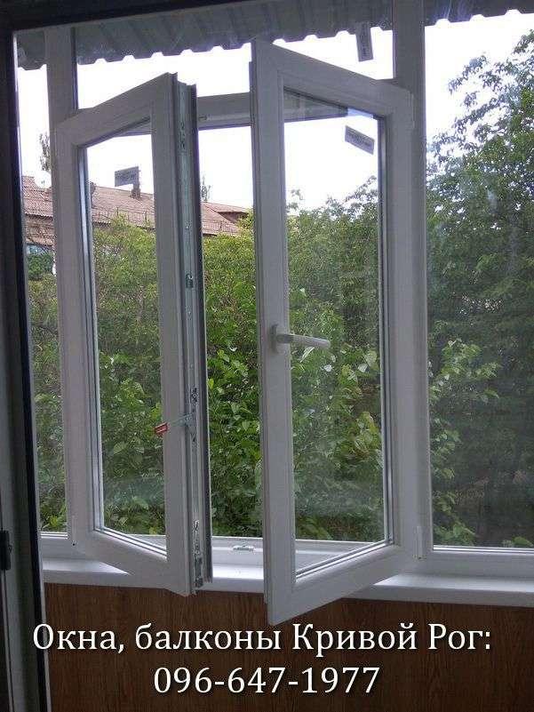 okna na balkon lodzhiju v krivom roge