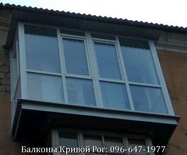 panoramnyj vid s francuzskogo balkona v krivom roge