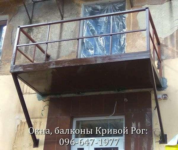 pristroit navesnoj balkon v krivom roge