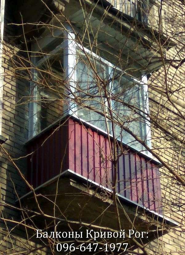 remont balkona lodzhii pod klyuch v stalinku krivogo roga