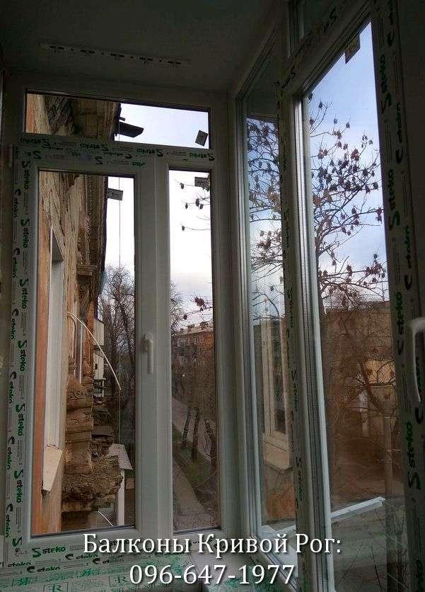 zasteklit balkon krivoj rog