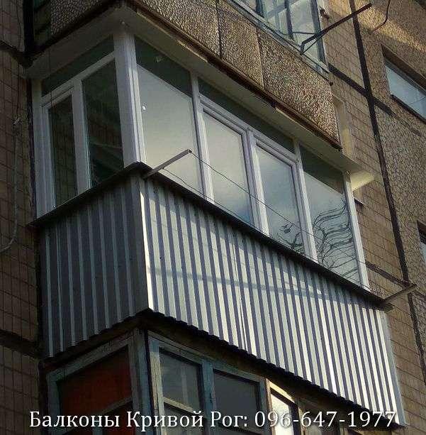 balkon osteklenie cena krivoy rog