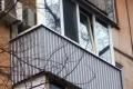 zasteklit balkon lodzhiyu metaloplastikovymi oknami ot kompanii komfort