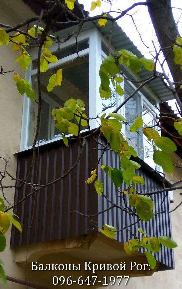 okna zasteklit balkon krivoy rog