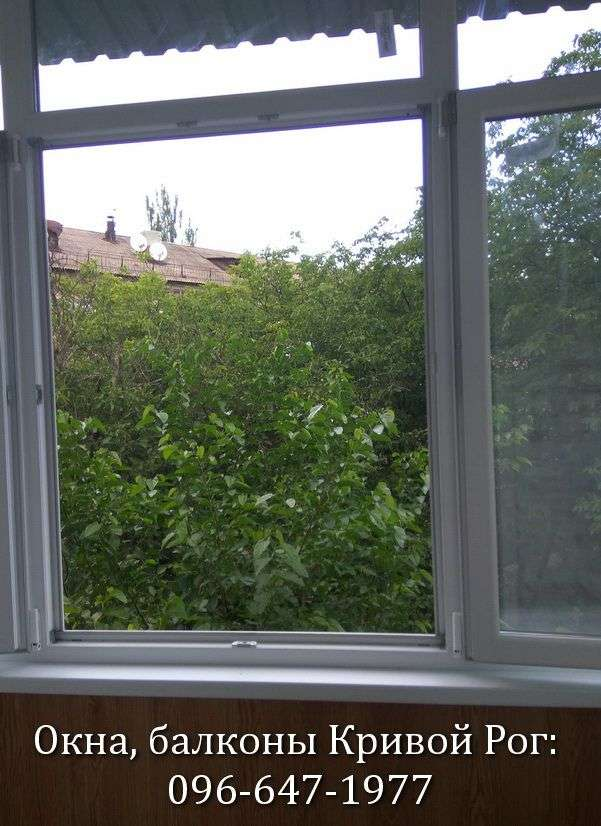 osteklenie balkonov i lodzhij krivoj rog