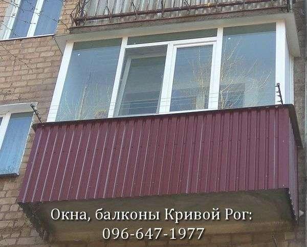 zasteklit balkon lodzhiyu ekonomno ot komfort
