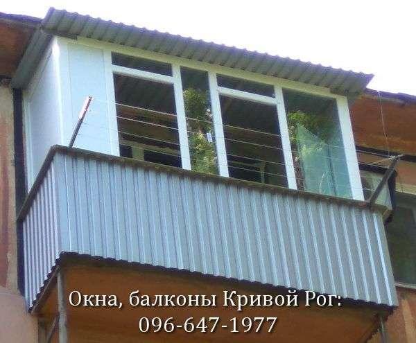 zasteklit balkon lodzhiyu kachestvenno