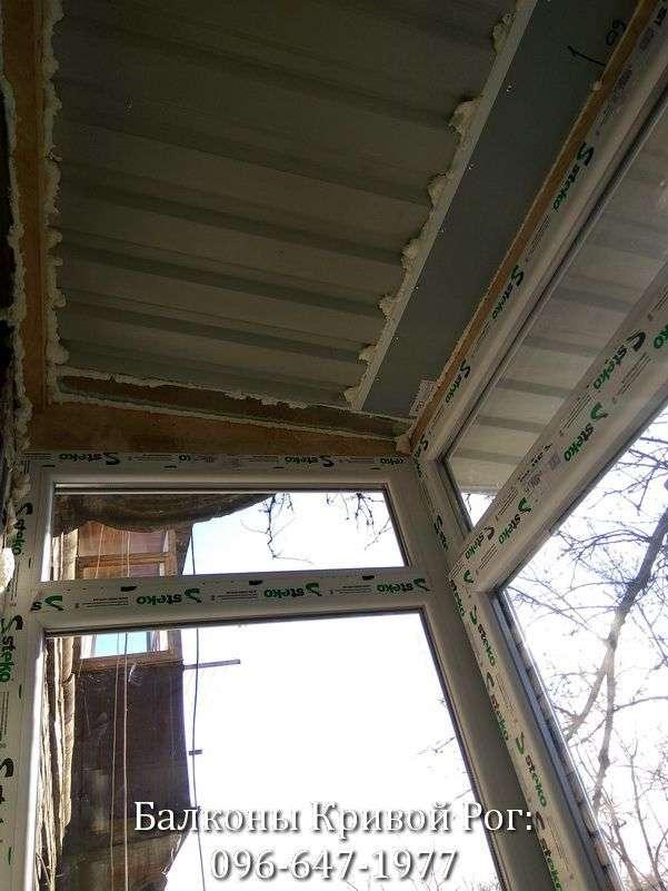 zasteklit balkon lodzhiyu metaloplastikovymi oknami nedorogo ot komfort