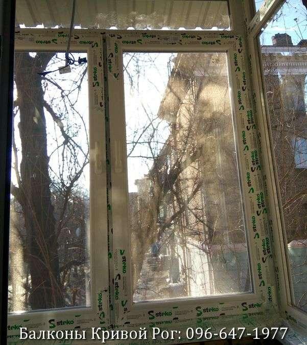 zasteklit balkon lodzhiyu metaloplastikovymi oknami ot komforta