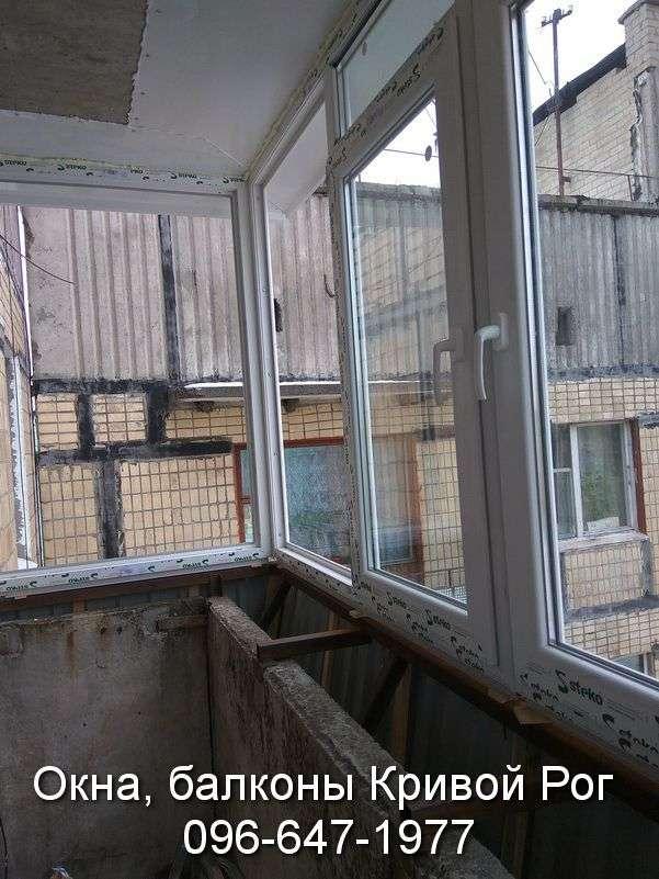 zasteklit balkon lodzhiyu metaloplastikovymi oknami
