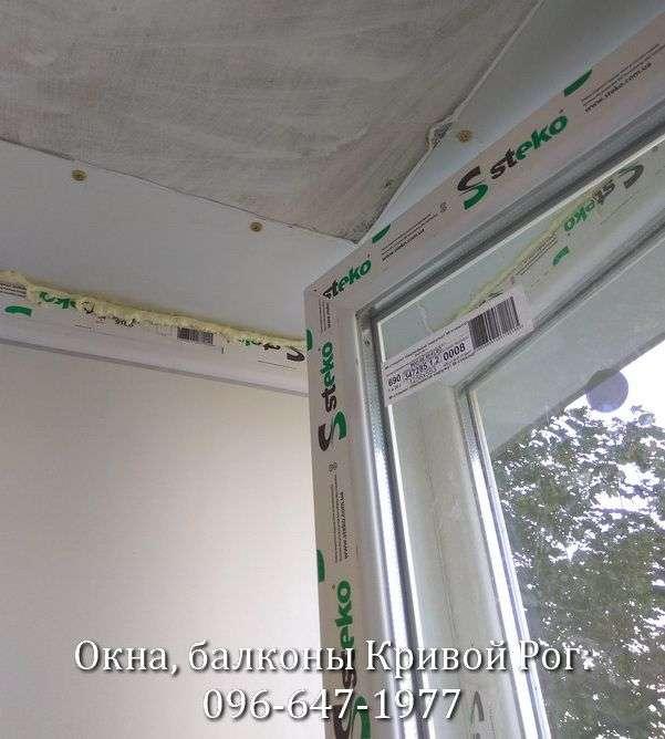 zasteklit balkon lodzhiyu plastikovymi oknami ot komfort