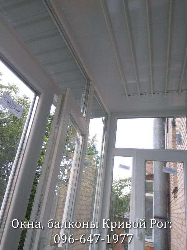 zasteklit balkon v krivom roge