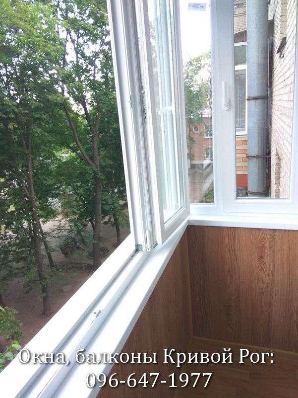 zasteklyonnye balkony foto krivoy rog