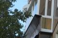 zasteklit francuzskij balkon lodzhiyu plastikovymi oknami ot komfort