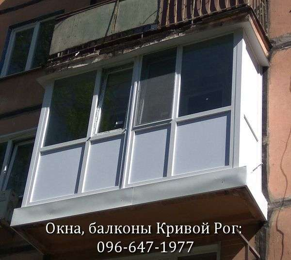zasteklit francuzskij balkon dyoshevo