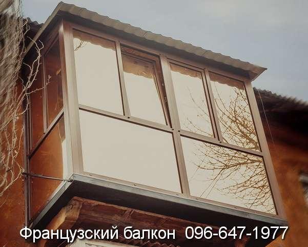 Французский балкон в Кривом Роге остекление