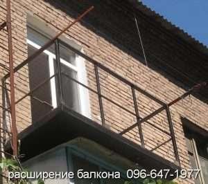 Замена ремонт перил балкона в Кривом Роге