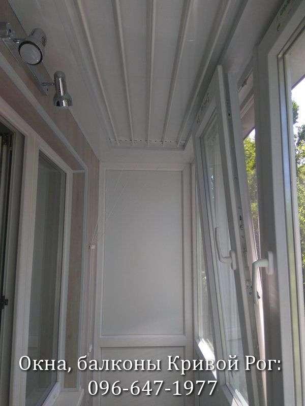 Установка освещения на балконе в Кривом Роге
