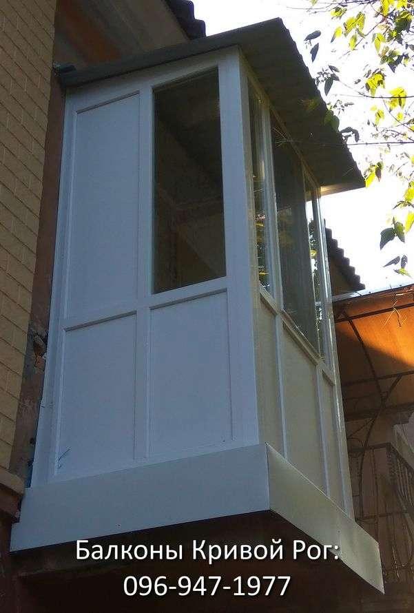 francuzskij balkon zasteklit po dostupnoj cene v krivom roge