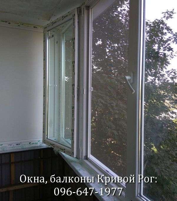 okna na balkon lodzhiyu v krivom roge 096-647-1977