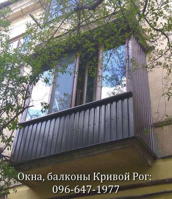okna s laminaciej pod derevo na balkon v krivom roge 096-647-1977