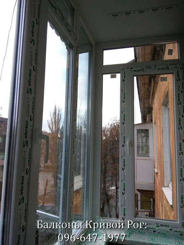 osteklenie balkonov krivoj rog