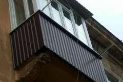 balkony pod klyuch v krivom roge - osteklenie - obshivka - francuzskie balkony - cena - foto (72)