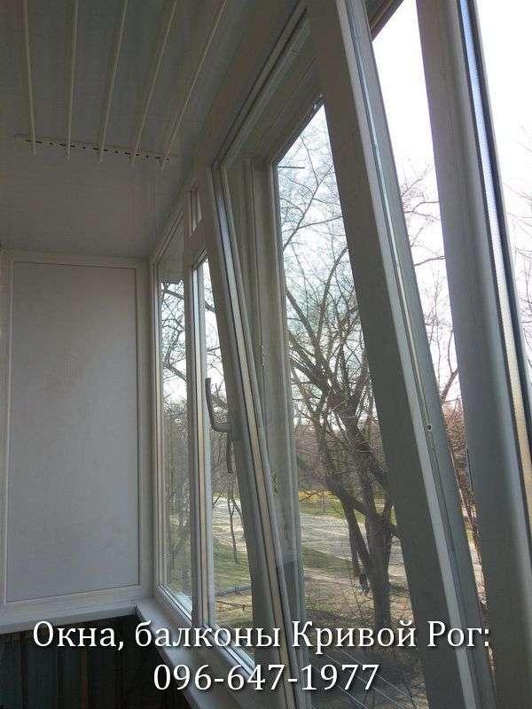 zasteklit i obshit balkon lodzhiyu v krivom roge