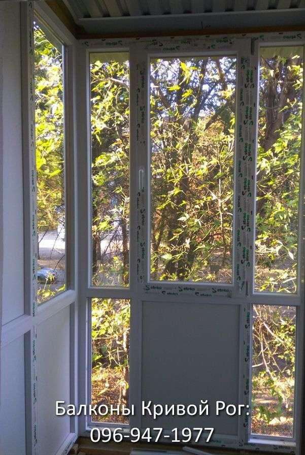 Застеклить французский балкон Фото