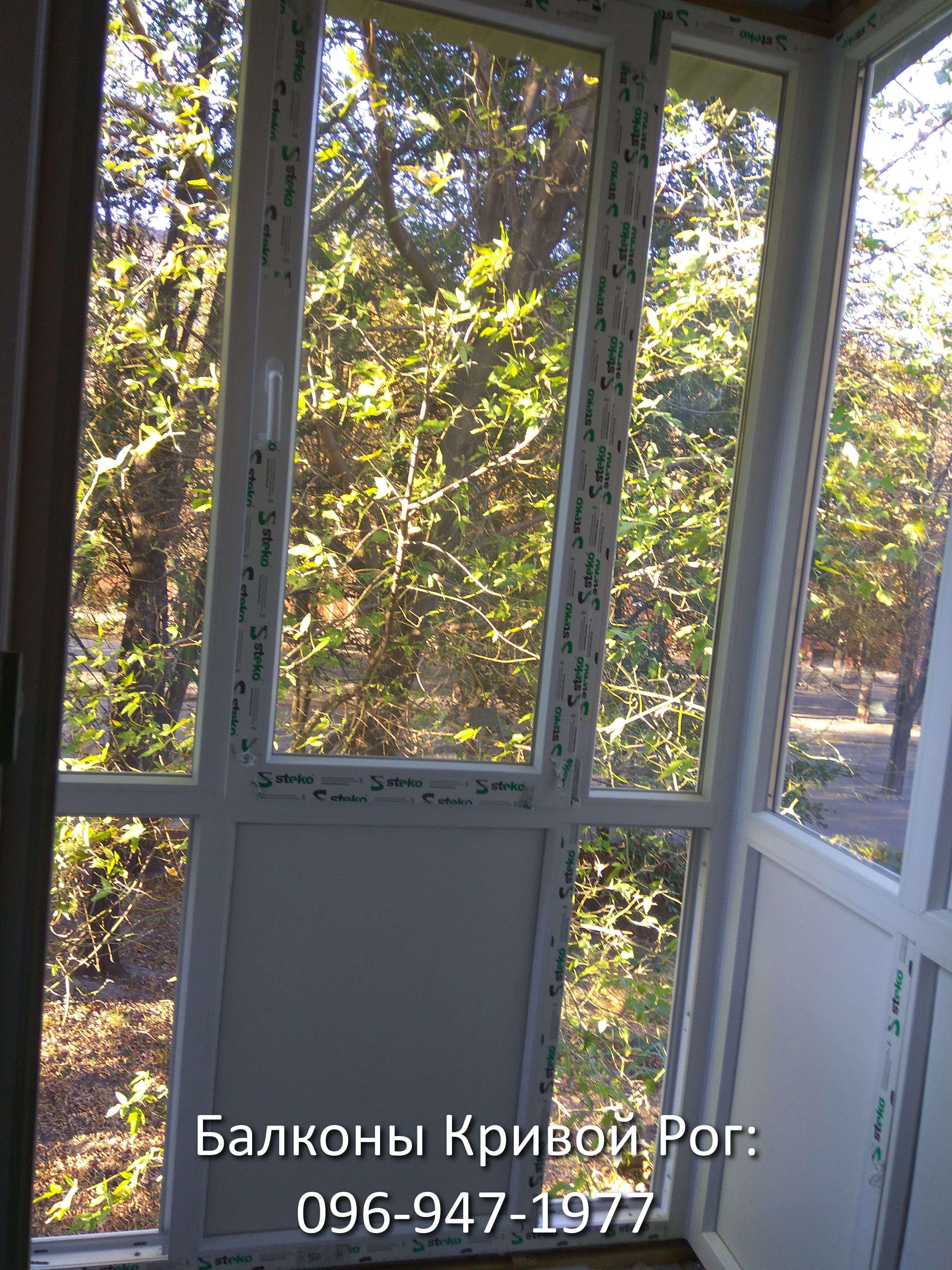 Окна на Французский балкон фото
