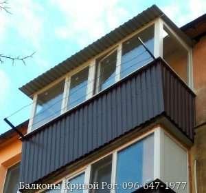 крыша балкона на последнем этаже Кривой Рог