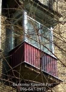 крыша над балконом Кривой Рог