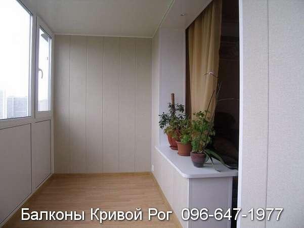 Ремонт балкона студии