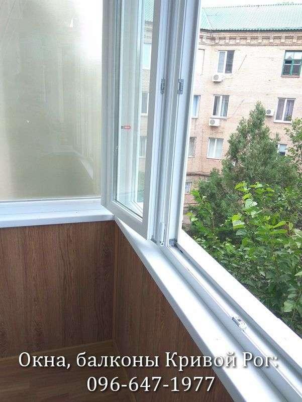 Металлопластиковые окна со штульповой створкой