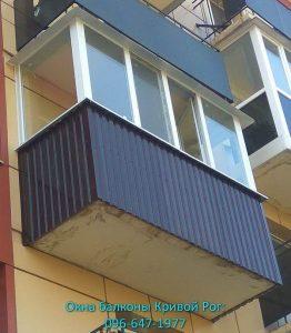 Остекление и обшивка балкона и лоджии