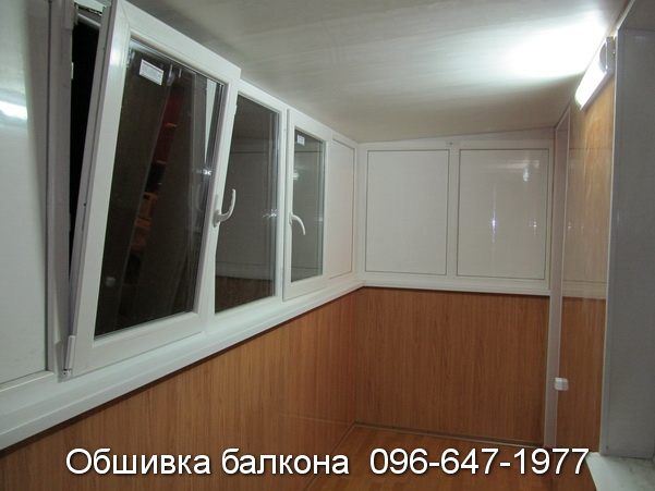 Пристройка и обшивка балкона