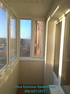 Рама на балкон и обшивка балкона Кривой Рог
