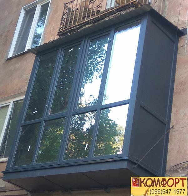 Пристройка балкона