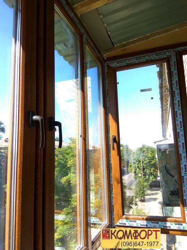 застеклить балкон в кривом роге