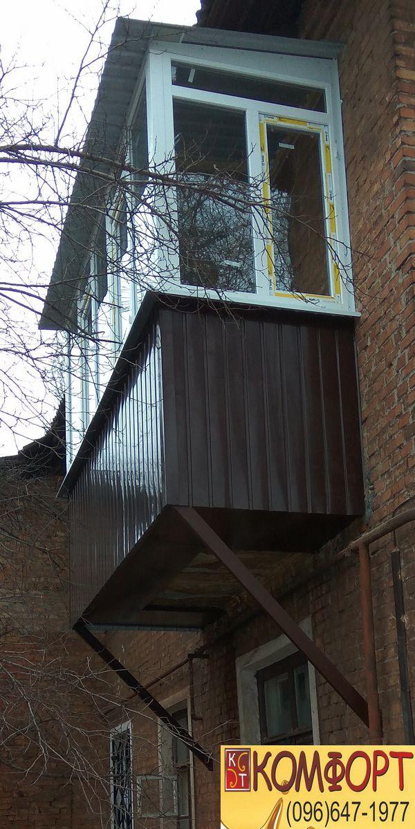 Укрепляем и расширяем опорные плиты балконов
