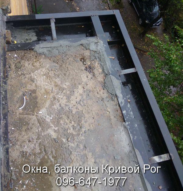 Расширяем и укрепляем балконную плиту